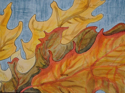 """Oak Leaves 1"" Linda Lynton"