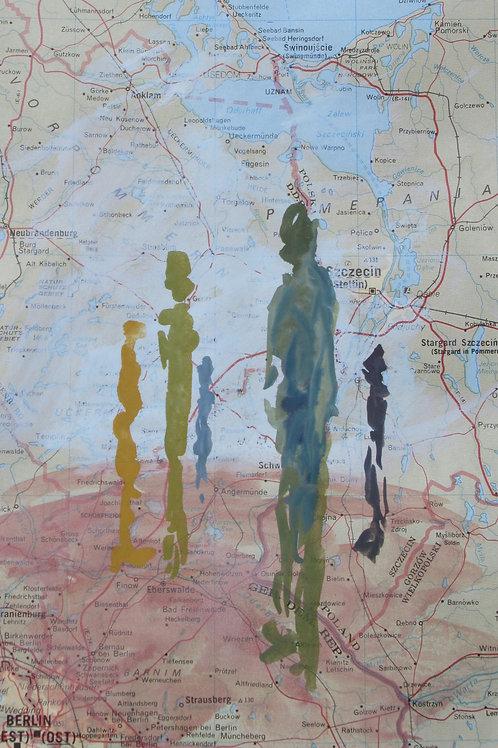 """""""Proxemics Map I"""" Andrea Geller"""