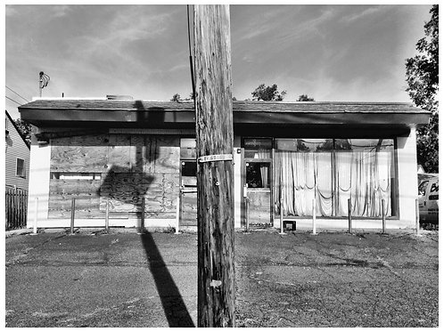 """Abandoned #98 Plywood and Pleats (10-10-2015)"" Ellen Martin"