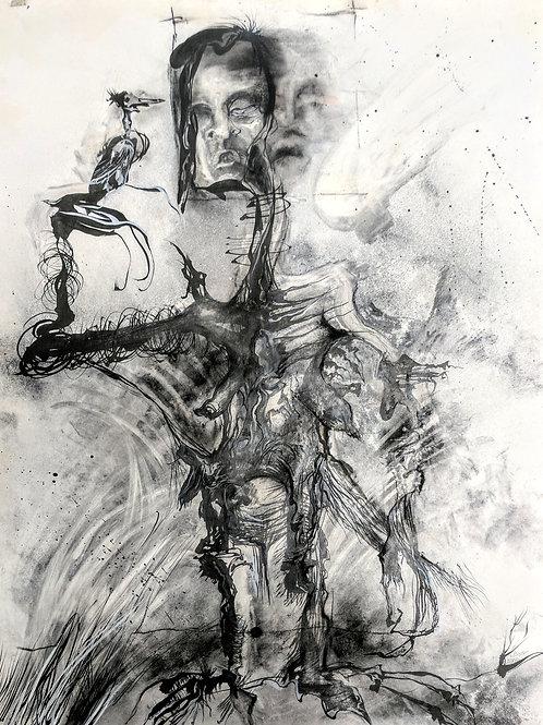 """Dark Figure"" Loel Barr"