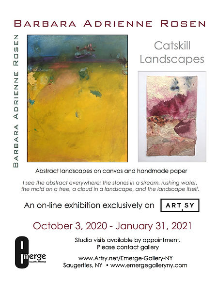 Emerge Gallery_Rosen_ARTSY_promo flier.j