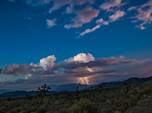 """Lightning Across the Valley"" Edie Galindo"