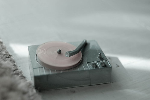 """Record Player"" Gina Petrecca"