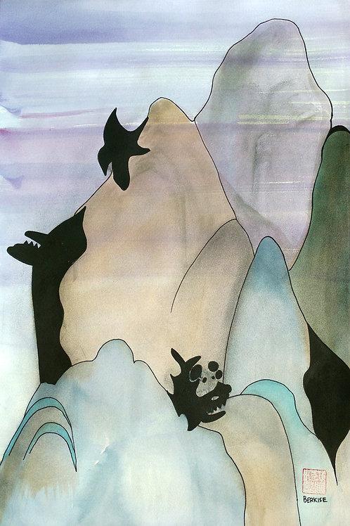 """Shark Mountain"" Edward Berkise"