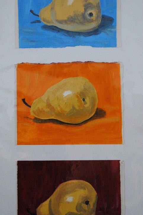"""""""Pears #2"""" Linda Lynton"""