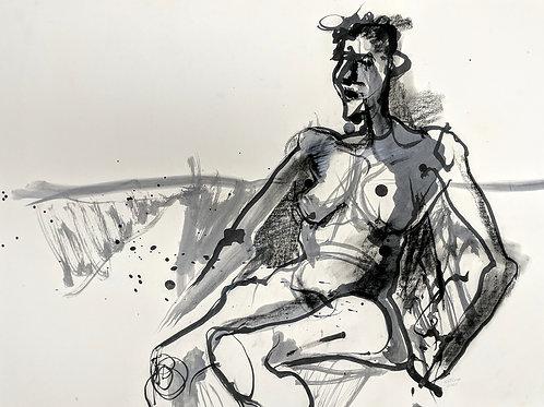 """Figure Study #7"" Loel Barr"