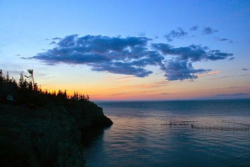 """Grand Manan Island, NB, at sunset"" Robert Langdon"