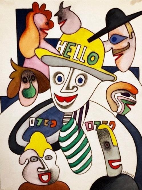 """Jester's Mask"" Edward Berkise"