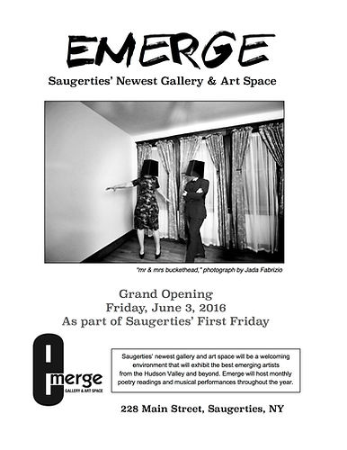 Emerge: Saugerties' Newest Gallery and Art Space