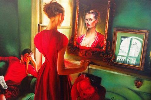 """""""Venetian Red"""" Suzanne Anan"""