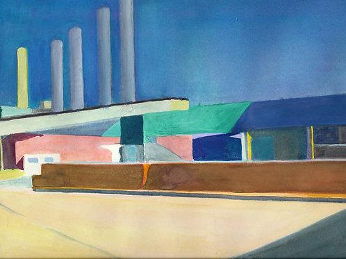 """""""Industrial Landscape"""" Margaret Still"""