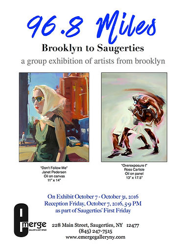 96.8 Miles Brooklyn to Saugerties: A Group Exhibition of Artists From Brooklyn