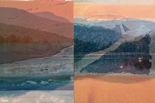 """""""Earth Sea Sky"""" Deborah Ramsden"""