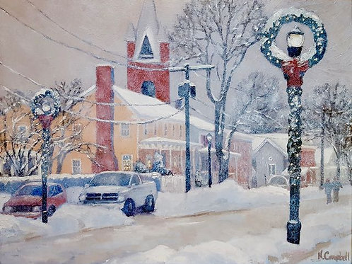 """""""Partition Street"""" Nancy Campbell"""