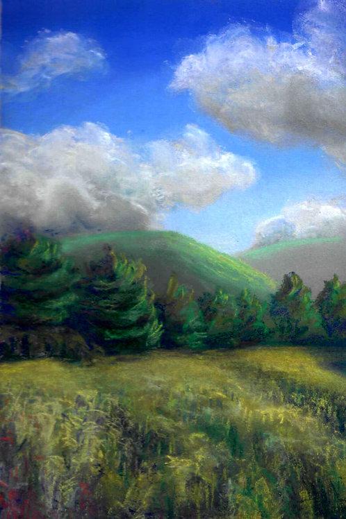 """""""Golden Rod Field"""" Linda Lynton"""