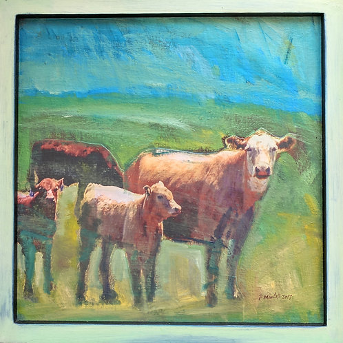"""Hudson Valley Cow 1"" Paul Mindell"