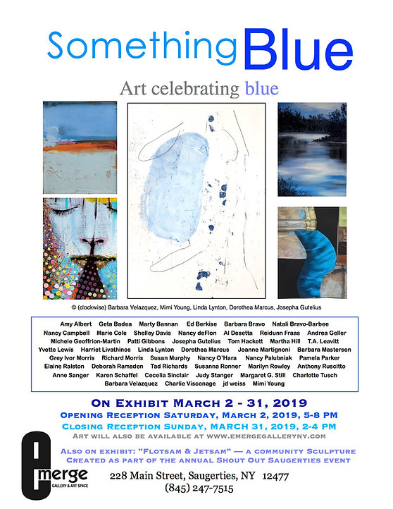 Emerge Gallery_Something Blue_March 2019