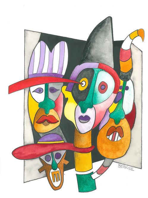 """Clowns"" Edward Berkise"