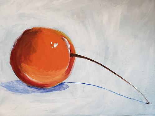 """Orange Cherry"" Katie Hoffstatter"