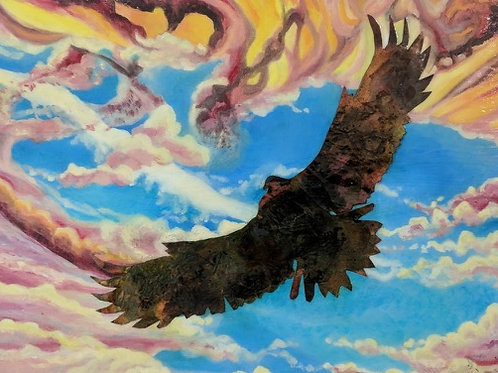 """Freedom In Flight"" Andrea Walcutt Perez"