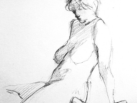 Virtual Figure Drawing Workshop with Andrea Geller