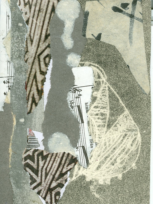 """Ghost Musician"" Barbara Tepper Levy"