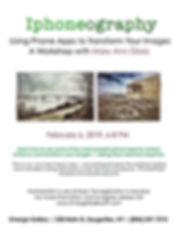 Emerge Gallery_Glass FEB workshop flier.