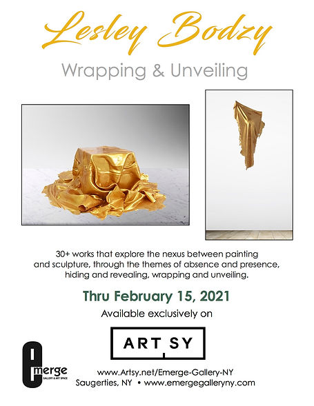 Emerge Gallery_Lesley Bodzy Wrapping and