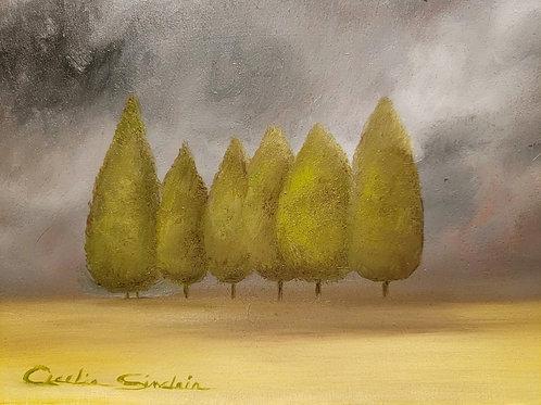 """Those Fabulous Trees"" Cecelia Sinclair"