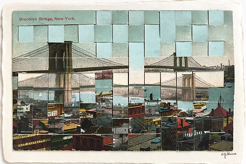 """Brooklyn Bridge II""  Carole P. Kunstadt"