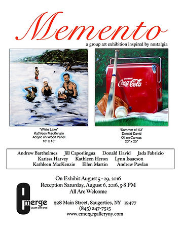 Memento: A Group Art Exhibition Inspired By Nostalgia