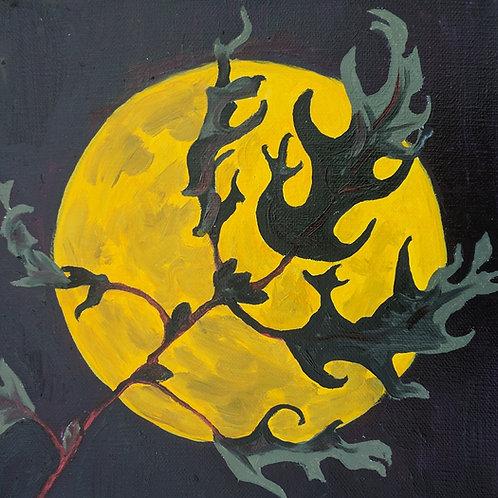 """August Moon II"" Linda Lynton"
