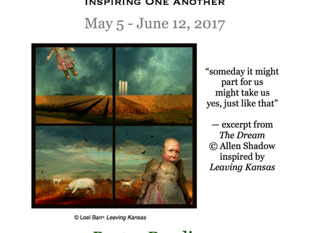 ART & WORDS extended through June 12 / Poetry Reading May 20th