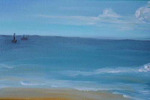 """""""Summer Surf"""" Linda Lynton"""