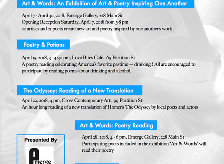 Saugerties Village Celebrates National Poetry Month