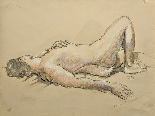 """Juan reclining"" Loel Barr"