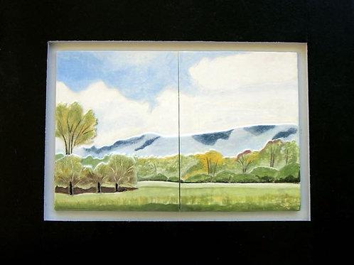 """View of Blue Mountain"" Barbara Bravo"