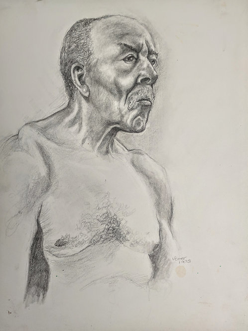 """""""Russell portrait"""" Loel Barr"""