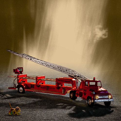 """Toy Series: Fire Engine"" Cali Gorevic"