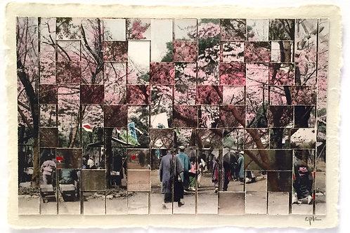 """Cherry Blossoms III""  Carole P. Kunstadt"