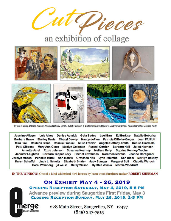 Emerge Gallery_Cut Pieces flier_May 2019