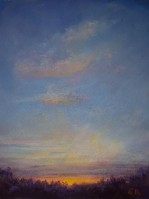 """""""Sundown"""" Elaine Ralston"""