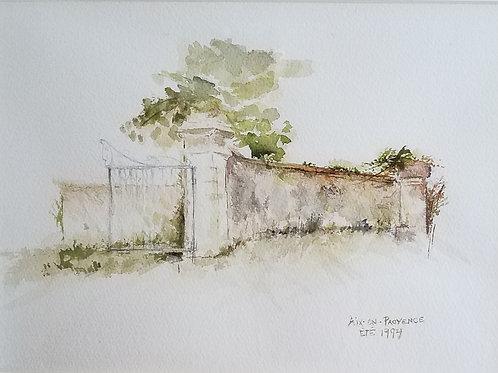 """The Gate"" Barbara Lowry"