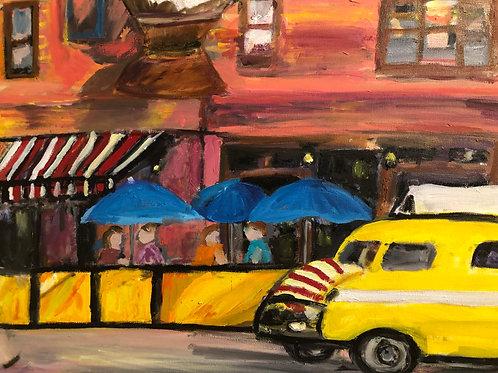 """""""Big Yellow Taxi"""" Marjorie Magid"""