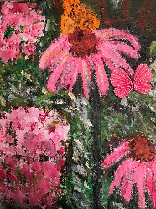 """Flowers"" Marjorie Magid"