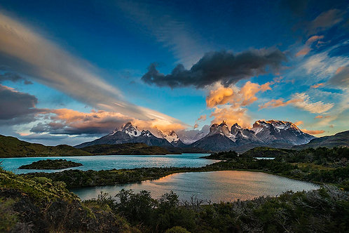 """Patagonia Mountains"" Stuart Mono"