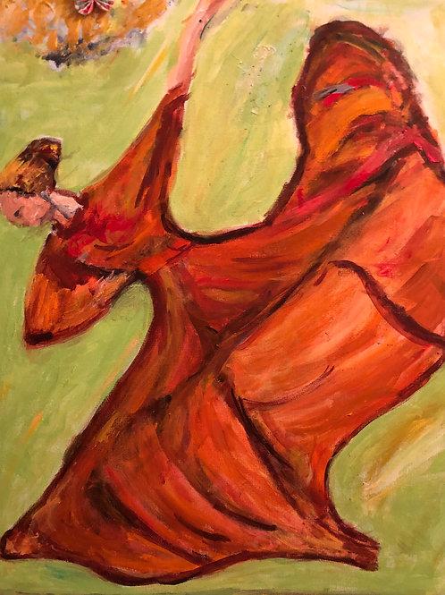 """""""Dancing In the Green"""" Marjorie Magid"""