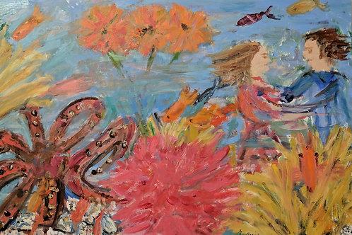 """""""Octopuses Garden"""" Marjorie Magid"""