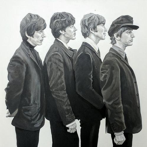 """""""George, Paul, John, Ringo 1964"""""""