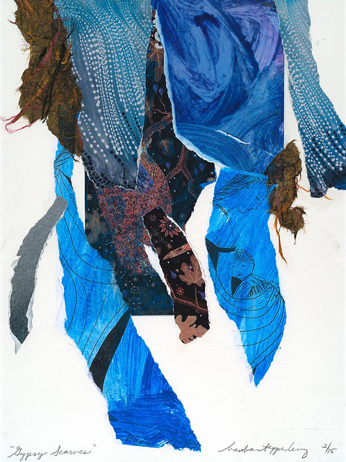 """Gypsy Scarves"" Barbara Tepper Levy"
